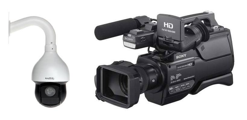 Kamery do transmisji sesji